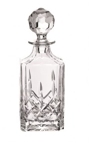 Galway Crystal Longford Square Decanter